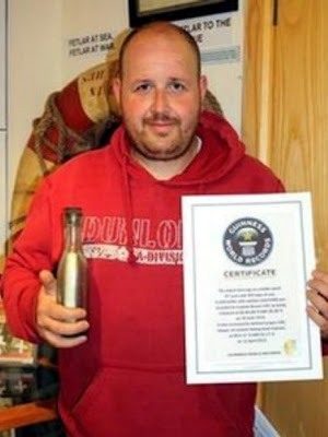 Andrew Leaper Guiness world record holder