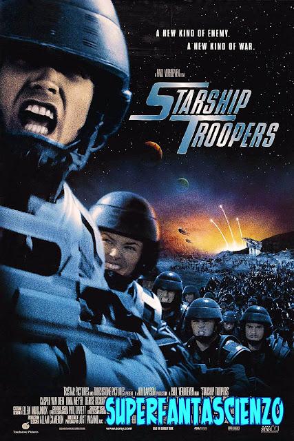 Starship Troopers Fanteria dello Spazio recensione poster