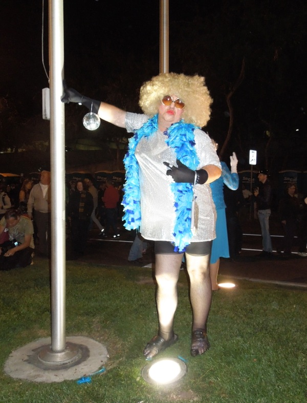 West Hollywood Halloween Carnaval drag