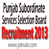 PSSSB Recruitment of 691 Attendant, Forest Guard, Restorer November 2013