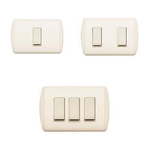 Bticino interruptor sencillo ferreteria industrial leon - Tipos de interruptores de luz ...