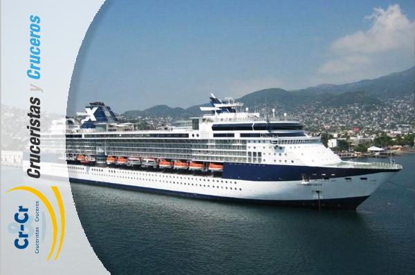 NOTICIAS DE CRUCEROS - Celebrity Cruises renueva dos barcos de la clase Millenium