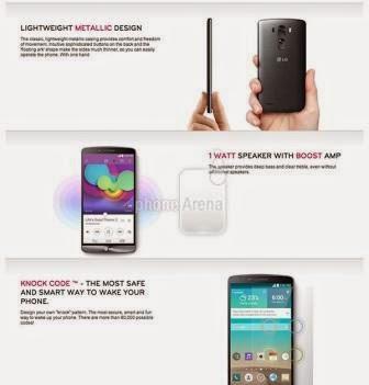LG G3 beberapa jam lagi dirilis, fitur, desain dan spesifikasi bocor