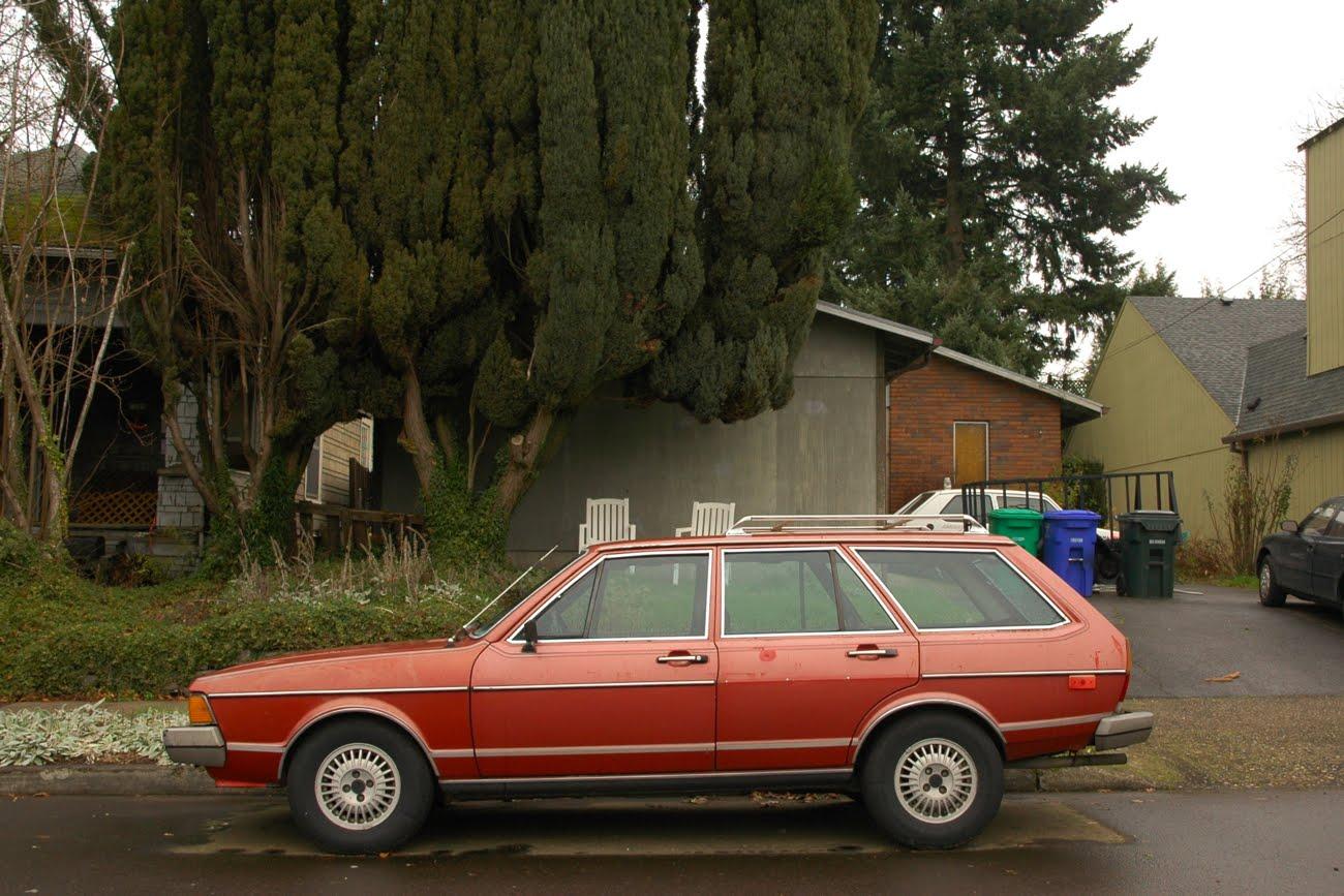 old parked cars 1980 volkswagen dasher diesel wagon. Black Bedroom Furniture Sets. Home Design Ideas