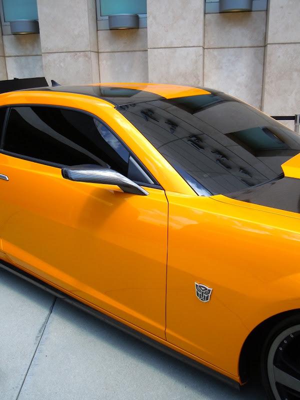 Transformers 3 Bumblebee Camaro detail