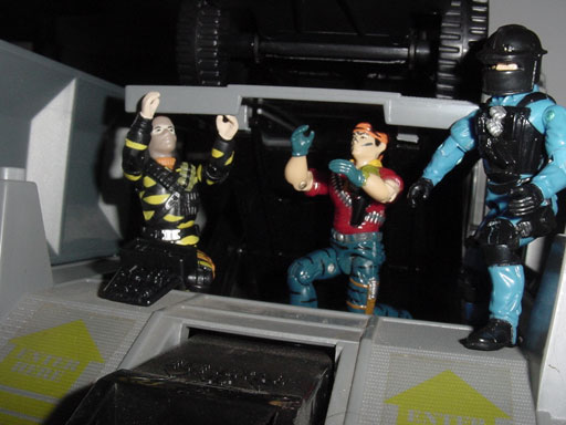 2003 Tiger Force Wreckage, TRU EXclusive, European Exclusive Tiger Force Tunnel Rat, 1992 Shockwave, G.I. Joe HQ, 1983