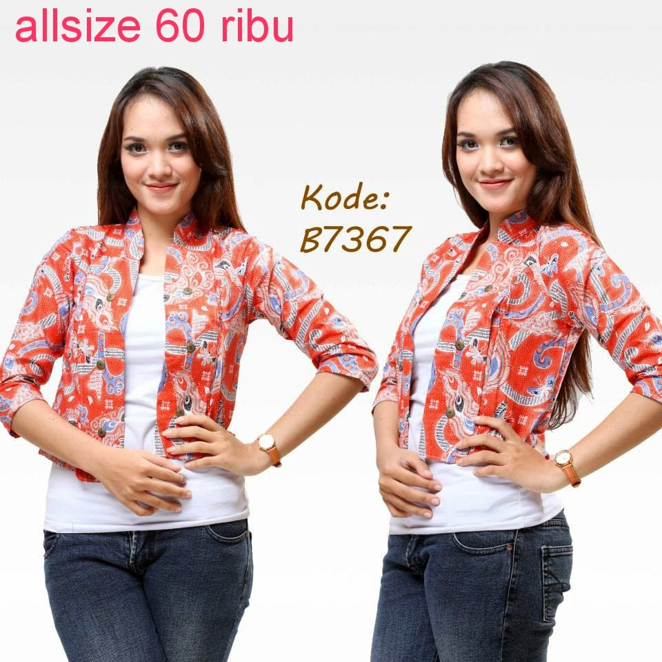 Related to MODEL BATIK ATASAN | Model Baju Batik Modern