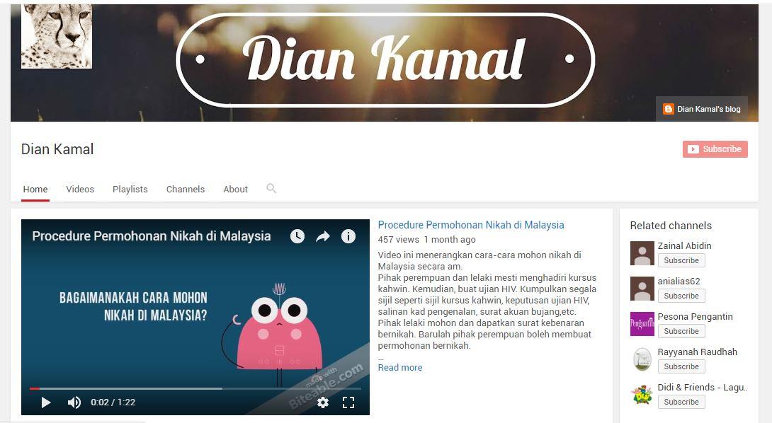 Klik! Ni Youtube Channel Dian!