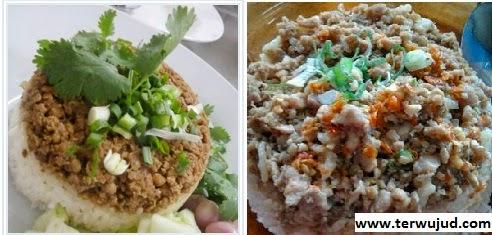 Nasi Daging Cincang