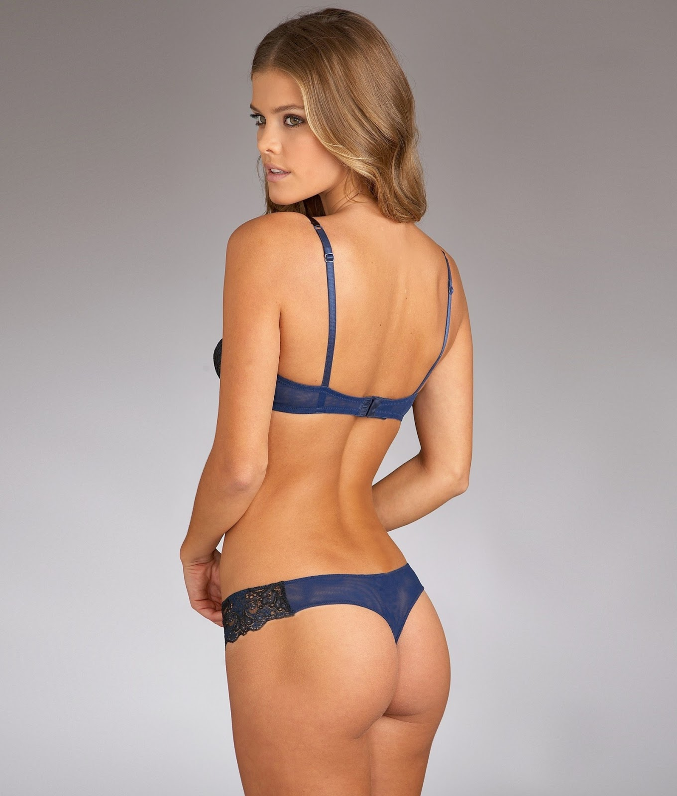 Nina Agdal hot in lingerie