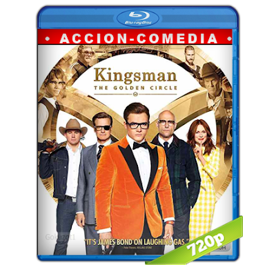 Kingsman El Circulo Dorado (2017) BRRip 720p Audio Trial Latino-Castellano-Ingles 5.1
