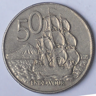 new zealand 50 cent endeavour