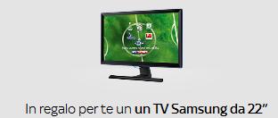 """Sky Regala un Tv Samsung 22"""" mod. LT22E390EX/EN"""
