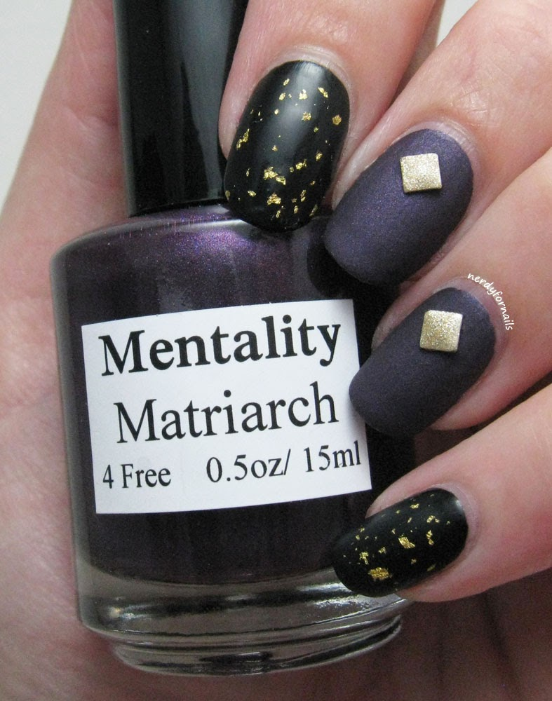 Lacquer Legion Glam Mentality Matriarch 24k Gold Top Coat