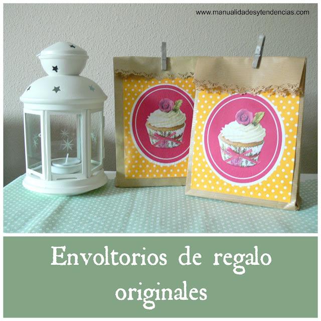 Manualidades y tendencias paquetes bonitos de papel kraft for Envoltorios para regalos