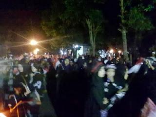 Kirab peringatan peristiwa Karbala Syiah Bondowoso (foto Sunnah Care)