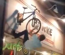 El Borracho y la bicicleta
