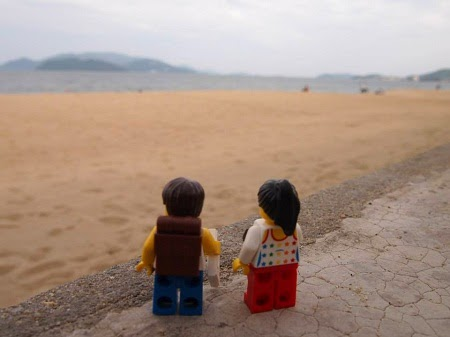 Đôi tình nhân đồ chơi Lego