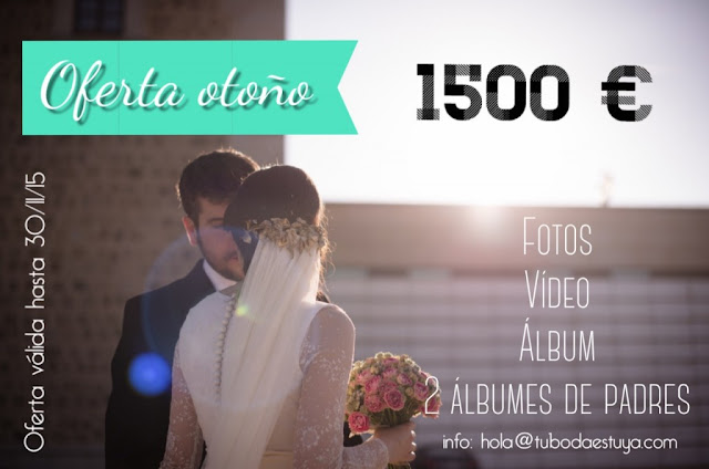 tu boda es tuya - promoción bodas 2016 fotografia madrid