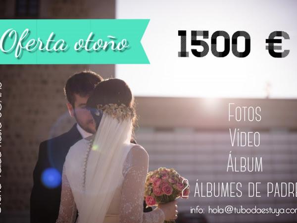 Promoción Fotógrafo & Videógrafo para tu boda