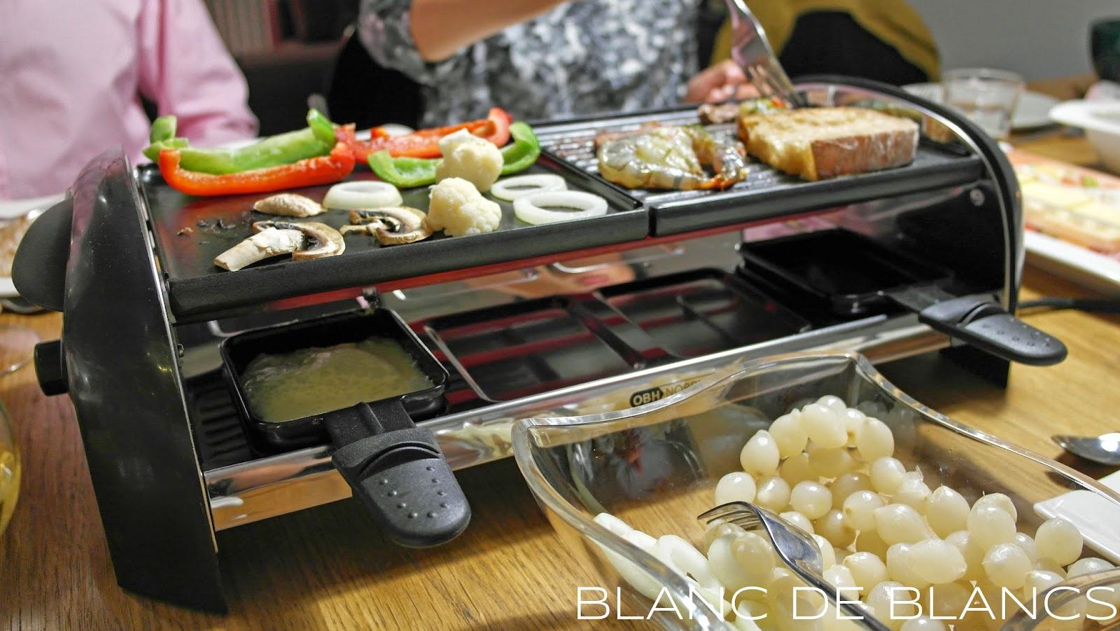 Raclette - www.blancdeblancs.fi