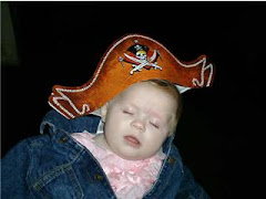 Sleepy time at the pirates ride