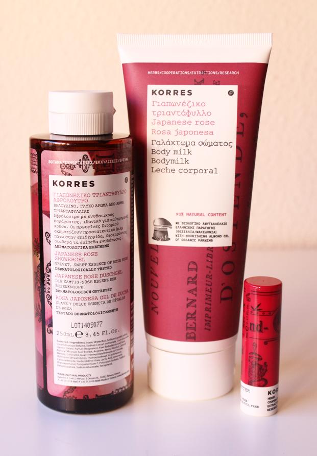 Kit rosa japonesa de Korres