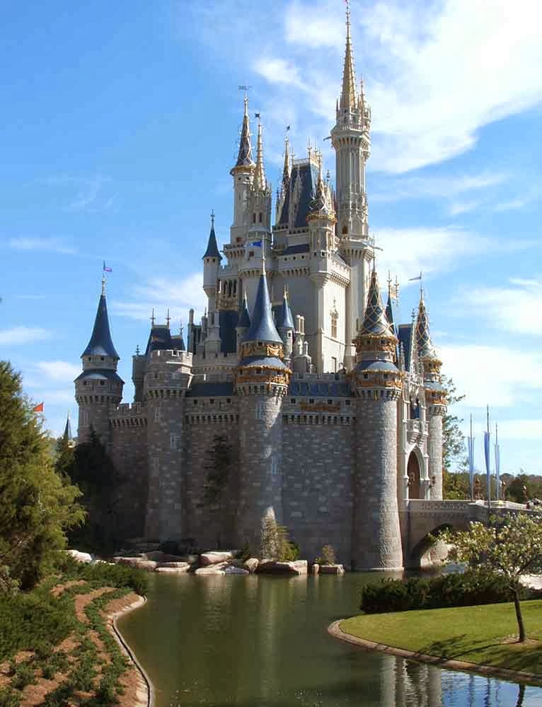Disney Castle, USA