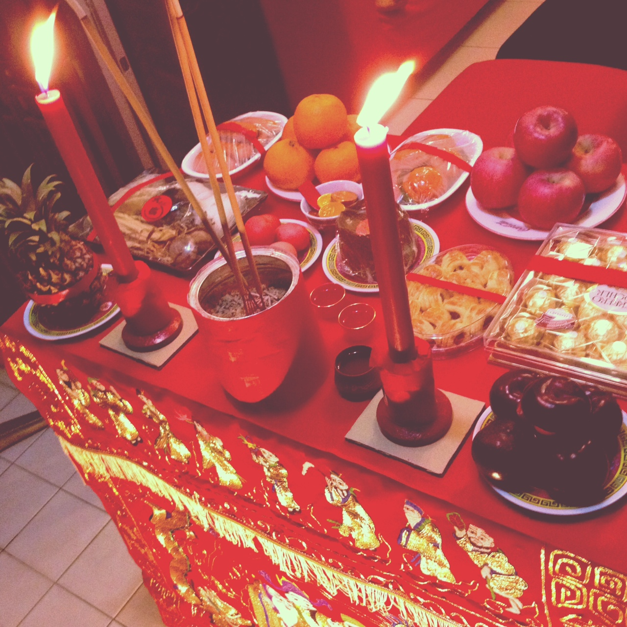 BAI TI GONG . JADE EMPERORS BIRTHDAY. HOKKIEN 9TH DAY CNY 2013