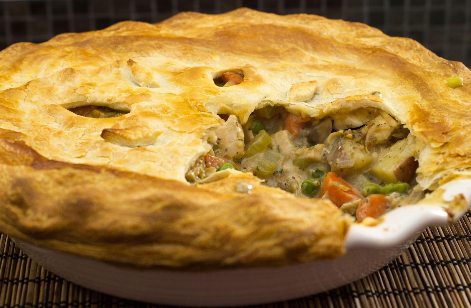 fabulous fridays: Chicken pot pie