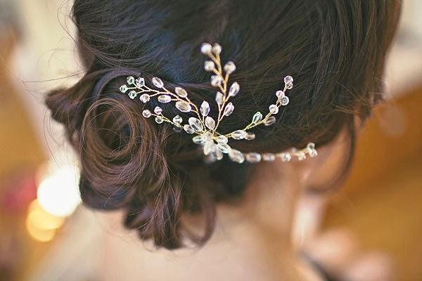 tocado joya para novia
