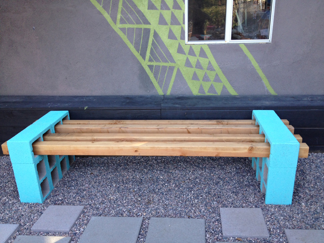 lena sekine diy outdoor seating