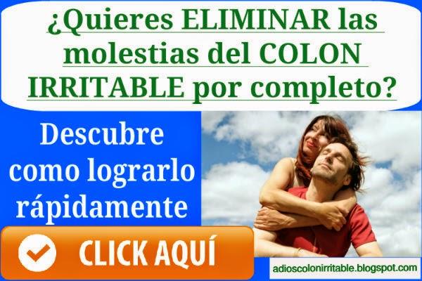 dolor abdominal por colon irritable