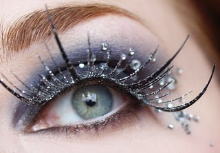 Gorgeous Bridal Stoned and Glittery Eye Makeup