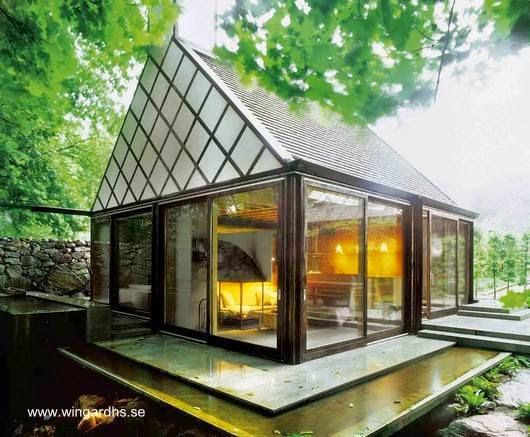 Cabinas De Baño Pequenas:Arquitectura de Casas: Pequeña casa de baños en el campo en Suecia