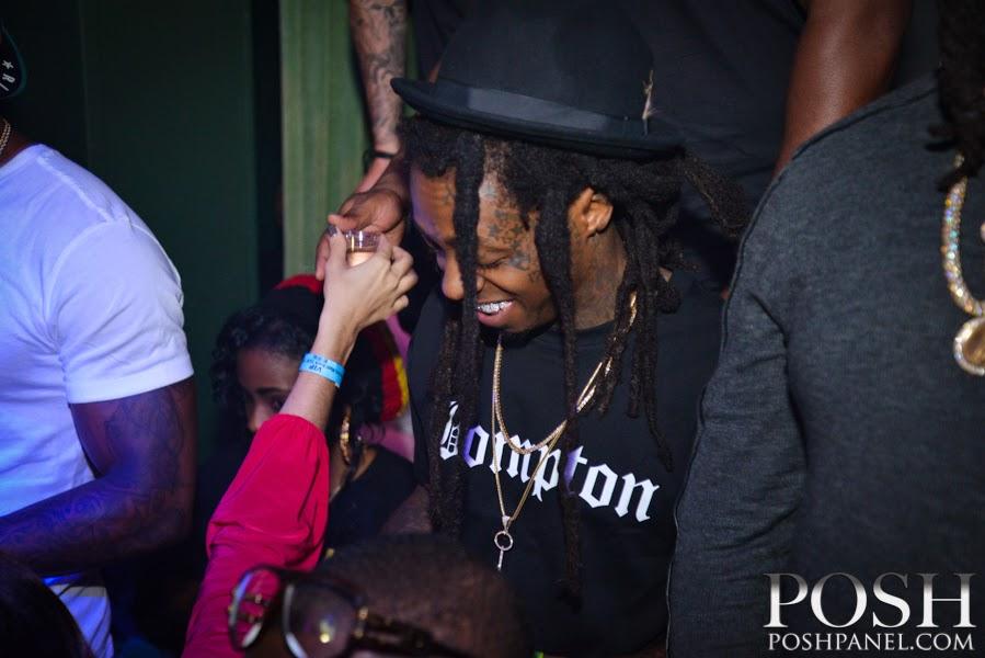 fotos de lil wayne hood y dj stevie j en el club ivy celebrando cumpleaños