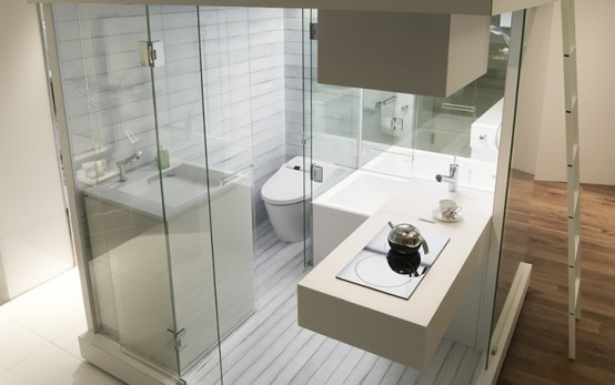 Modern Designs For Small Bathrooms
