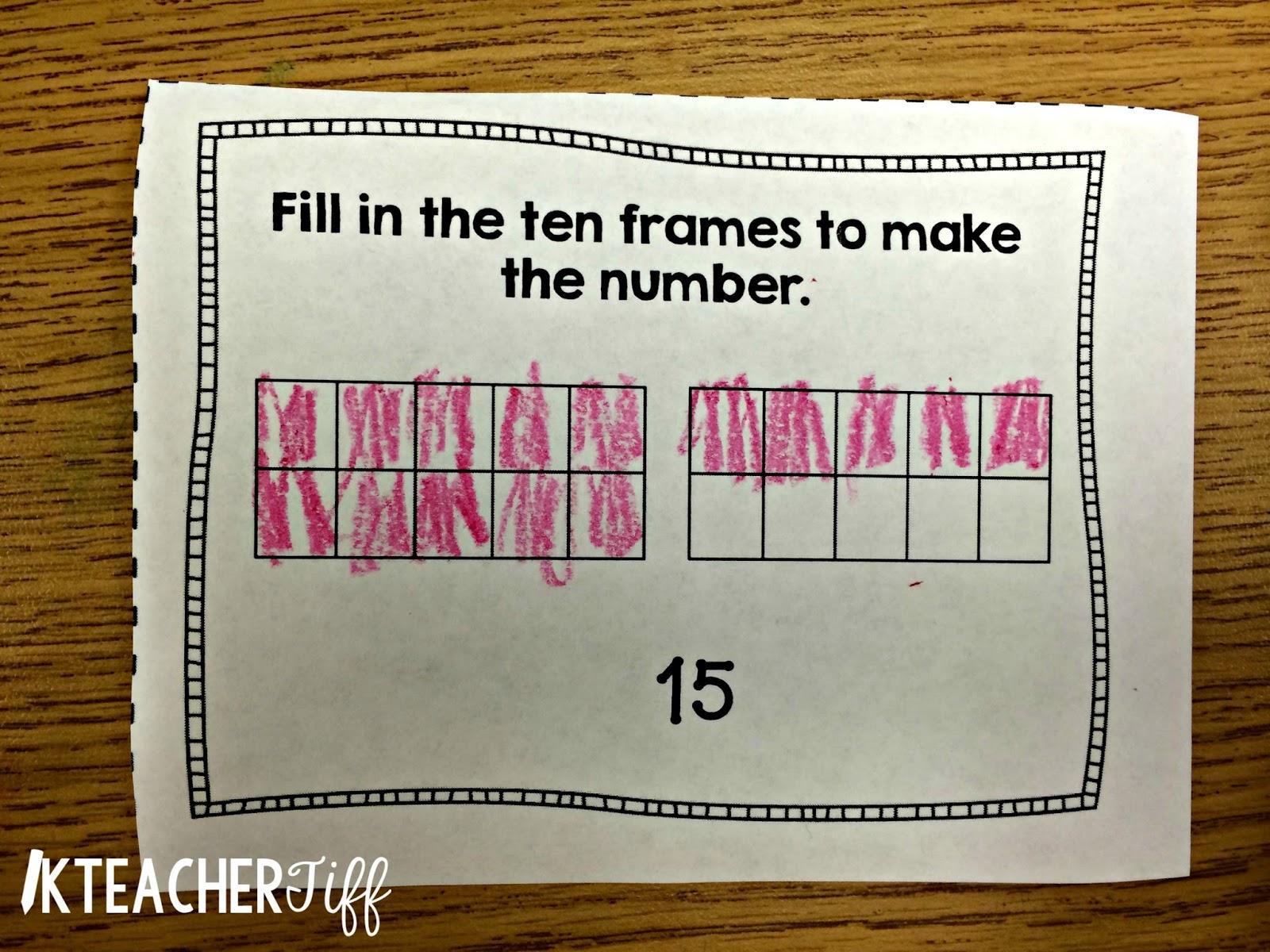 Using Exit Tickets in Kindergarten - KTeacherTiff