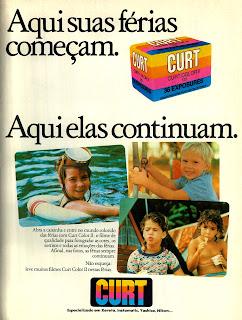 propaganda filmes Curt - Color II - 1979.  os anos 70; propaganda na década de 70; Brazil in the 70s, história anos 70; Oswaldo Hernandez;
