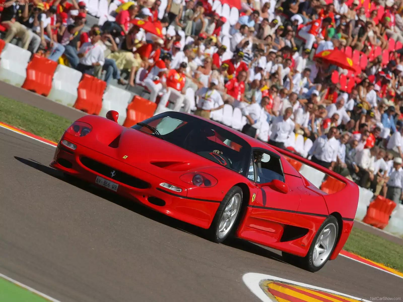 Hình ảnh siêu xe Ferrari F50 1995 & nội ngoại thất
