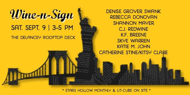 Wine~n~Sign NYC Event & Book Order!