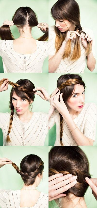 How to do simple hair updos