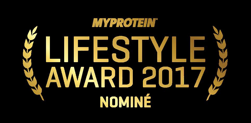 Mon blog nominé aux Awards 2017 de MYPROTEIN dans la catégorie Lifestyle