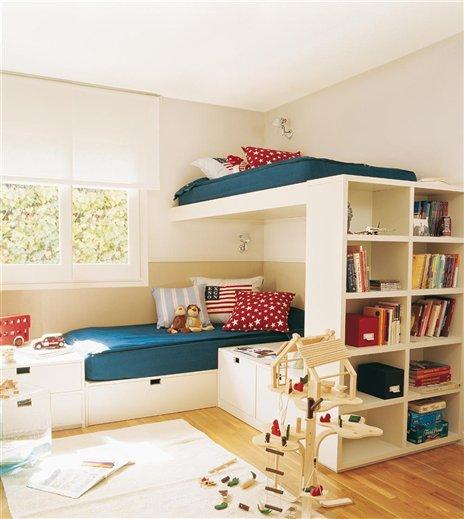 Beliche bem planejado jeito de casa blog de decora o - Habitaciones de dos camas ...