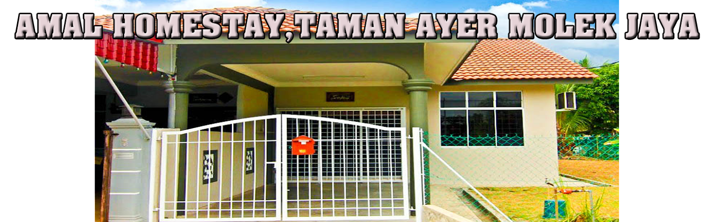 Amal Homestay, Taman Ayer Molek Jaya, Melaka