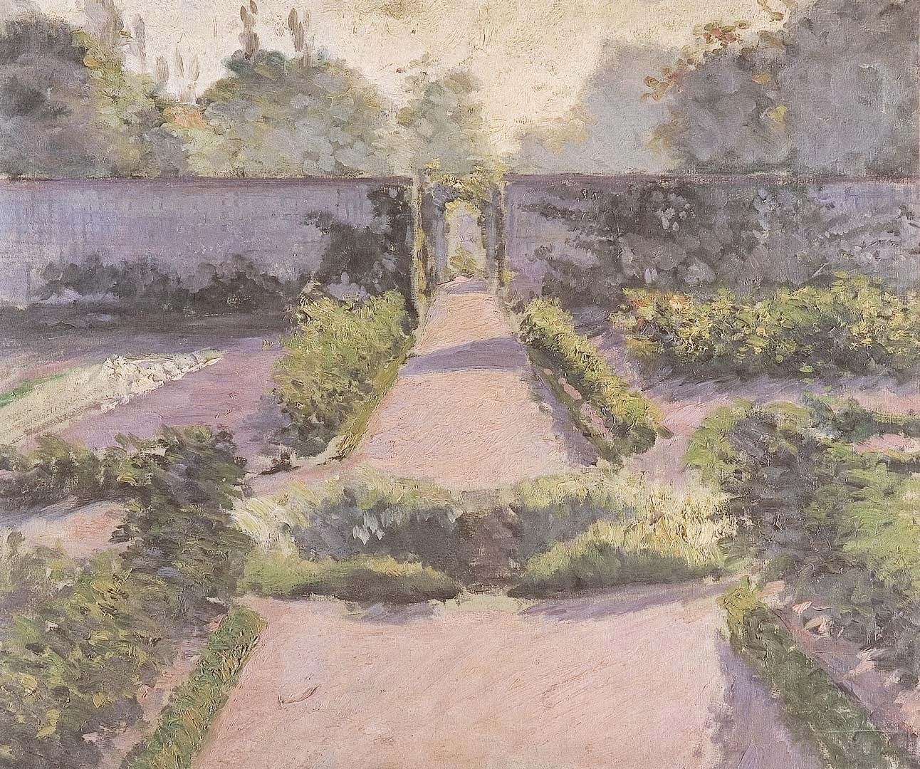 Caillebotte - le jardin potager - Yerres