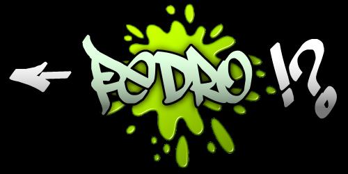 Nomes Em Graffiti Pedro