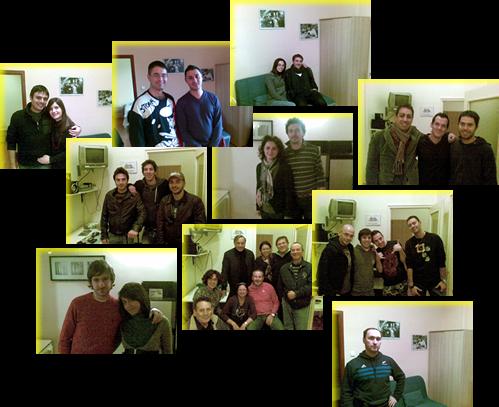 Ospiti che si sono concessi a foto ritratto :-)