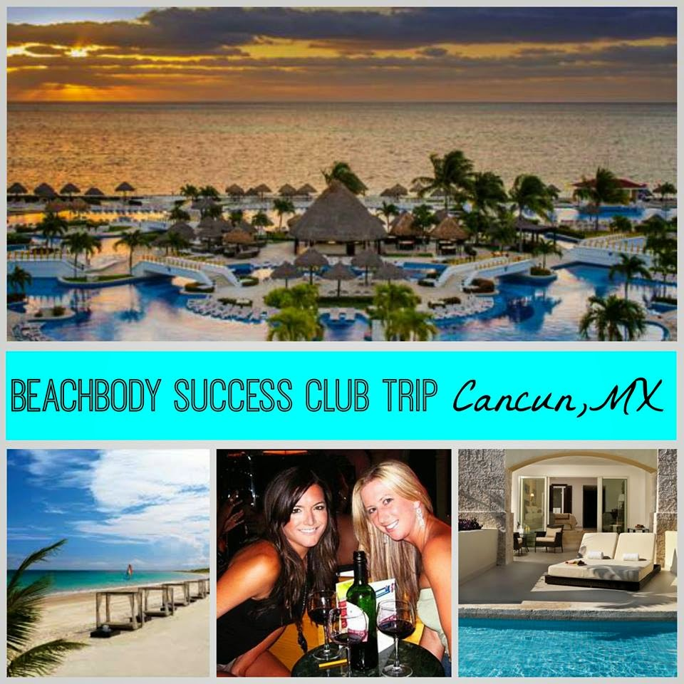 beachbody success club trip cancun 2015