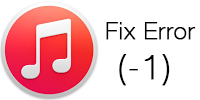Fix iTunes error -1